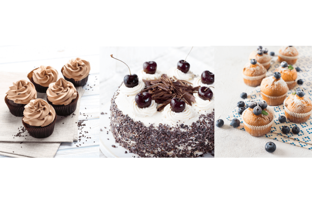 corso foresta nera muffin cupcake